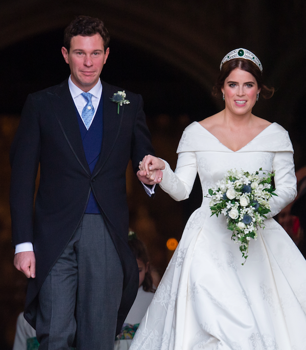Princess Eugenie and Jack Brooksbank tied the knot on Friday and had a strict 'no social media' policy for guests. Photo: Getty, princess eugenie wedding, royal wedding, jack brooksbank, demi moore, robbie williams, ricky martin