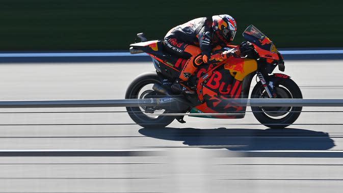 Sesi 1 Tes MotoGP Misano: Pol Espargaro Tercepat, Valentino Rossi Coba Knalpot Baru
