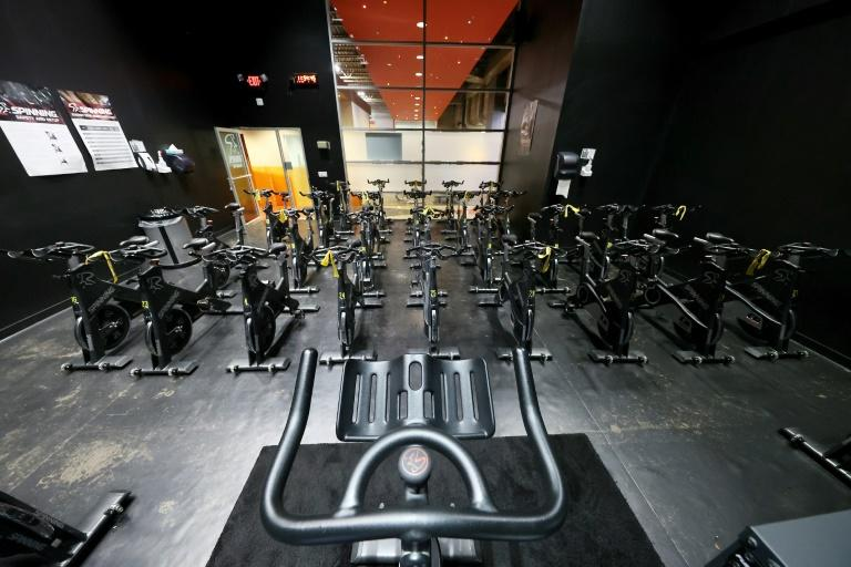 Some clients are demanding reimbursement for their memberships in gyms like this one, in New York, photographed on May 13, 2020