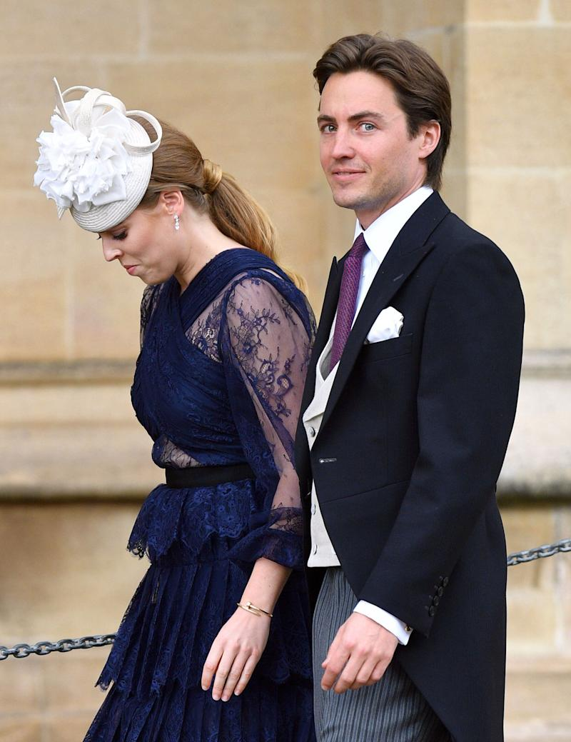 The couple made their royal debut at Lady Gabriella Windsor's wedding last weekend. Photo: Getty