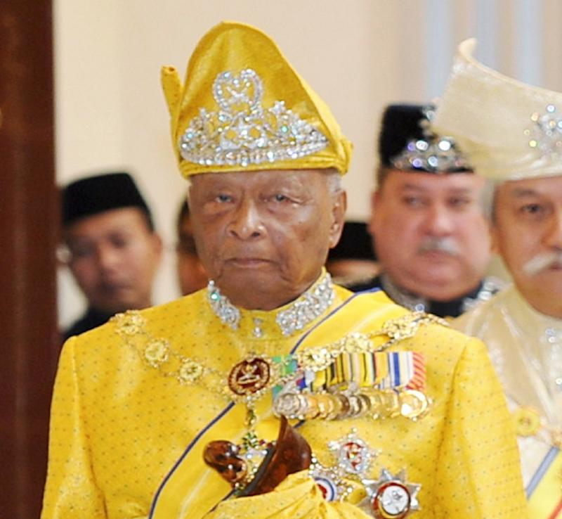 Sultan Ahmad Shah reigned as the fifth Sultan of Pahang for almost 45 years. — Bernama pic
