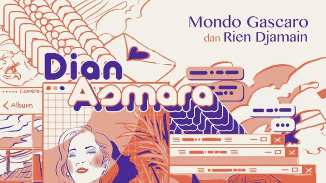 Mondo Gascaro mengajak Rien Djamain berduet dalam lagu Dian Asmara, rilis Oktober 2019 (Istimewa)