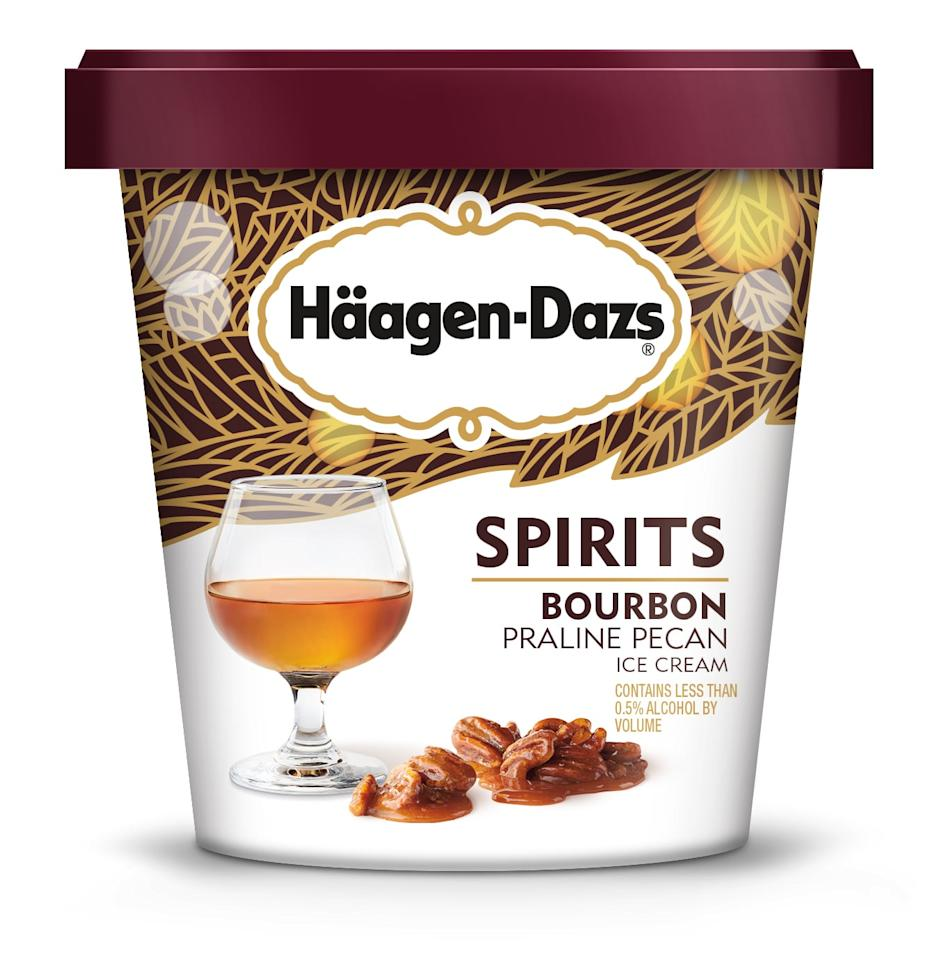 <p>This smooth flavor takes a bourbon ice cream and infuses it with praline pecans and brown sugar bourbon swirls.</p>