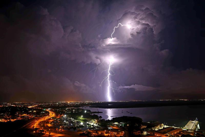 A loud boom was heard in Darwin on Thursday morning