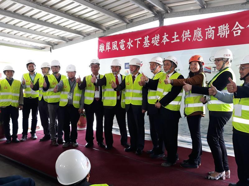 世紀鋼與台灣供應商合作,致力將離岸風電本土化。