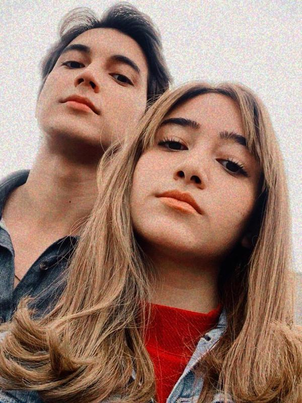 Junior Roberts dan Dannia Salsabilla (Sumber: Instagram/junniasalsaroberts)