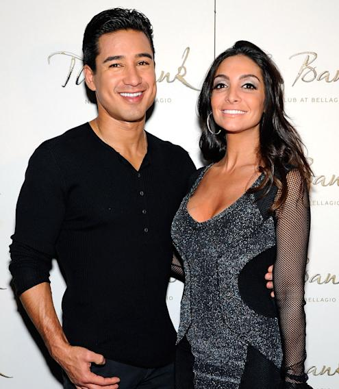 Mario Lopez (wife is Courtney Mazza)