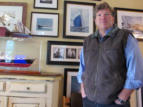 Teddy Turner, son of media magnate Ted Turner, poses for a photo inside his home in Mount Pleasant, S.C., on Tuesday, Jan. 22, 2012. Turner is now one of at least 10 Republicans and two Democrats seeking former U.S. Rep. Tim Scott's old seat in a district reaching from the sea islands northeast of Charleston southwest to the gated communities on the resort of Hilton Head Island. (AP Photo/Bruce Smith)
