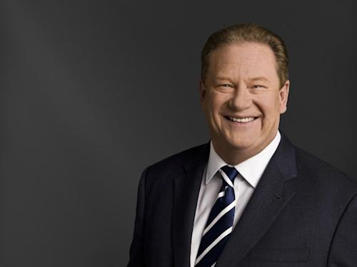 "Ed Schultz of MSNBC is seen in an udated photo provided by MSNBC. Schultz is losing his prime-time show on MSNBC. The cable network says Schultz is being moved to the weekends, to host two-hour shows Saturday and Sunday at 5 p.m. EDT. Schultz will be replaced weeknights by Chris Hayes, whose talk show, ""Up,"" has been a weekend morning mainstay on the MSNBC schedule since 2011. It begins April 1. (AP Photo/MSNBC)"