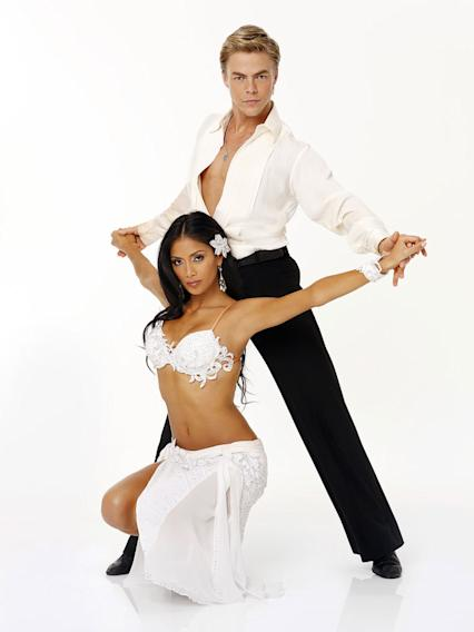Nicole Scherzinger was born in Honolulu, Hawaii and grew up in Louisville, Kentucky. She is a singer, songwriter, trained actress, performer, and the lead singer of The Pussycat Dolls. She teams with Season 7 champ Derek Hough, who returns for his sixth season.