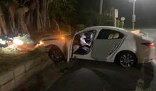 職軍酒駕拒檢還倒車衝撞 警3槍打爆輪胎
