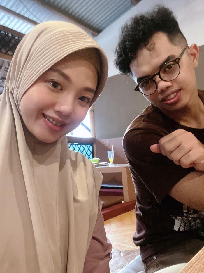 Muhammad Ilman dan Istri