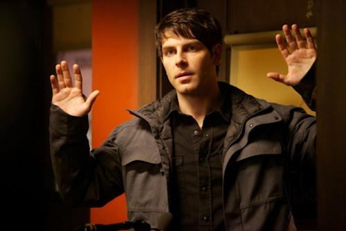 David Giuntoli as Nick Burkhardt in NBC's 'Grimm' -- NBC