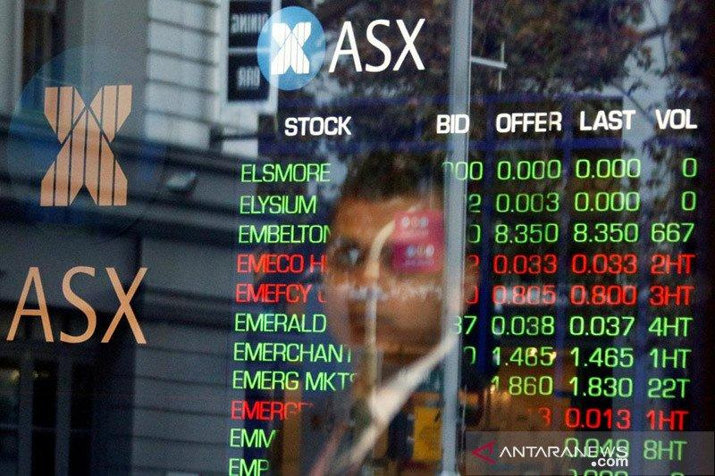 Saham Aussie ditutup balik merosot ke level terendah tiga minggu
