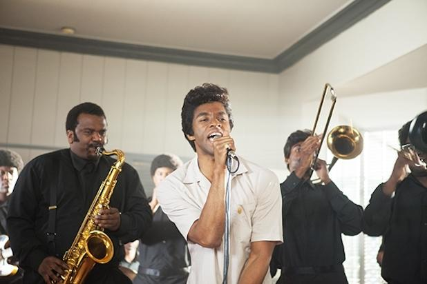 Chadwick Boseman Conjures the Late Godfather of Soul in 'Get On Up' Trailer