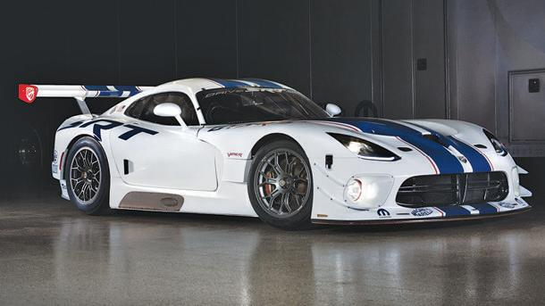 SRT Viper GT3-R race car arrives for the well-heeled privateer