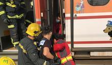 台鐵潮州車輛基地調車工遭兩車廂夾住 送醫不治