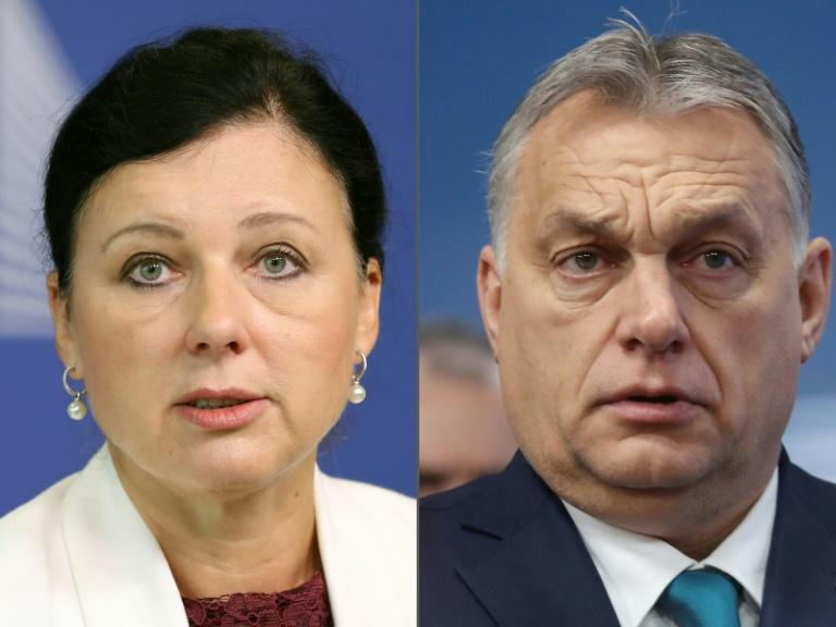 EU chief stands by commissioner attacked by Orban