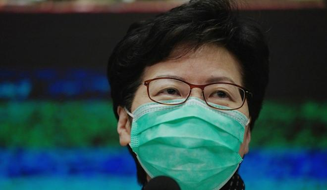 Chief Executive Carrie Lam's cabinet decided last Tuesday that tendering could be skipped if the supplies of mask did not exceed stipulated amount of HK$1.4 million. Photo: Robert Ng