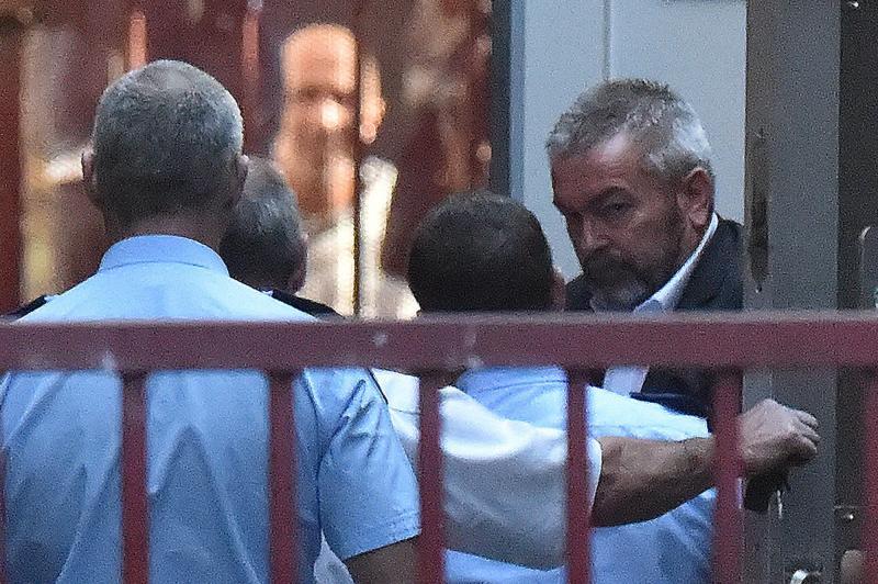 Borce Ristevski arrives at the Supreme Court of Victoria on Thursday. Source: AAP
