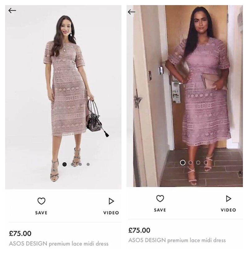 Student mocked on Tinder is now modelling Asos dress