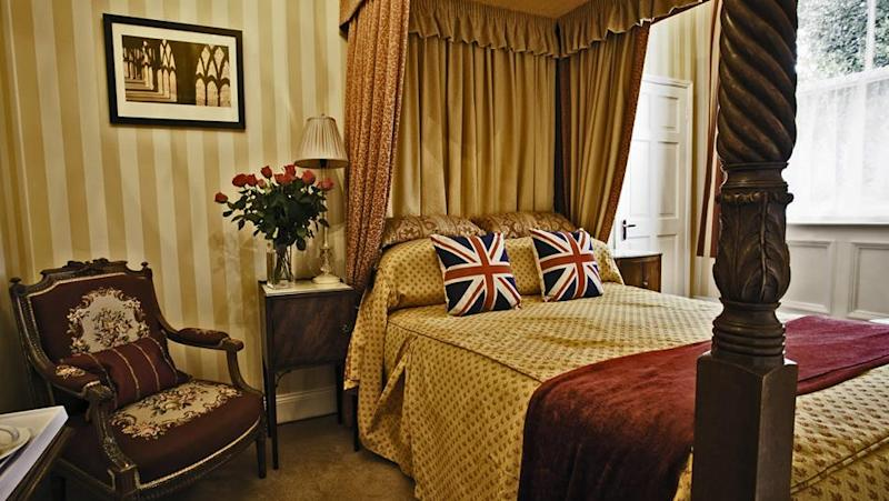 A room at the Victoria Inn [Photo: Visit County Durham]