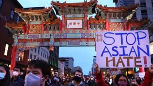 美國亞特蘭大槍擊案:亞裔社區遊行抗議種族仇恨