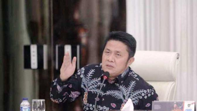 Gubernur Sumsel Herman Deru membantah jika petani durian yang tewas mengenaskan di Kabupaten Lahat Sumsel, merupakan korban dari serangan Harimau Sumatera (Dok. Humas Pemprov Sumsel / Nefri Inge)