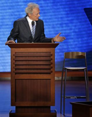 Clint gives 'weird' speech at Republican convention