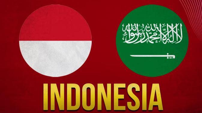 Timnas Indonesia - Timnas Indonesia U-19 Vs Arab Saudi U-19 (Bola.com/Adreanus Titus)