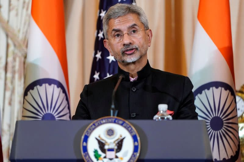 India's foreign minister says favourable U.S. visa policy would be good for both countries