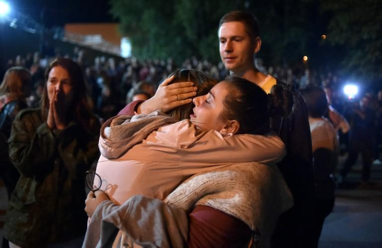 Tens of thousands rally in Belarus against post-vote crackdown