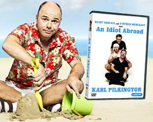 Win 'An Idiot Abroad' Season 1 DVDs from Yahoo! TV