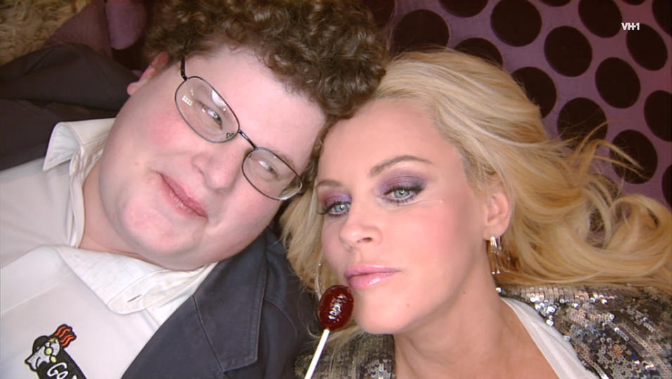 """The Jenny McCarthy Show"" Jesse Heiman and Jenny McCarthy"