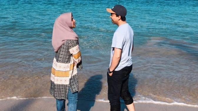 Sahrul Gunawan dan Kekasih (Sumber: Instagram//sahrulgunawanofficial