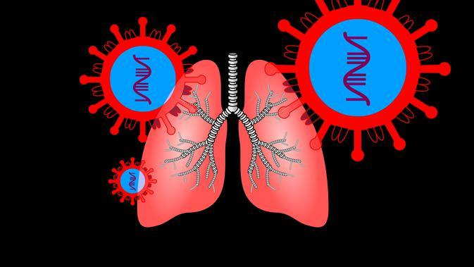 ilustrasi paru-paru/credit pixabay/geralt