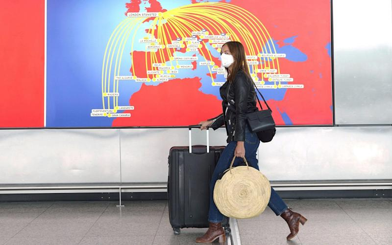 Stansted Airport, Essex, UK. 29th June 2020 - Headlinephoto Limited / Alamy Live News