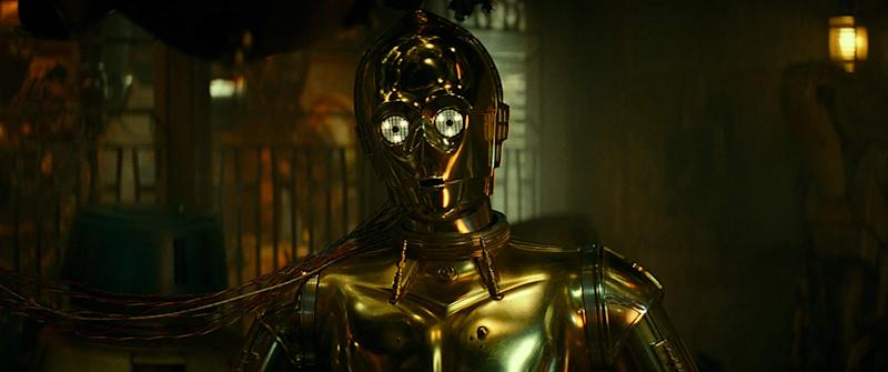 C3P-O in The Rise Of Skywalker.
