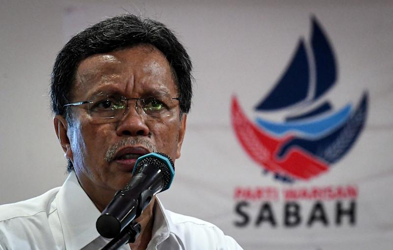With polling just two days away, Parti Warisan Sabah president Datuk Seri Mohd Shafie Apdal said his priority is the Sabah state election. — Bernama pic
