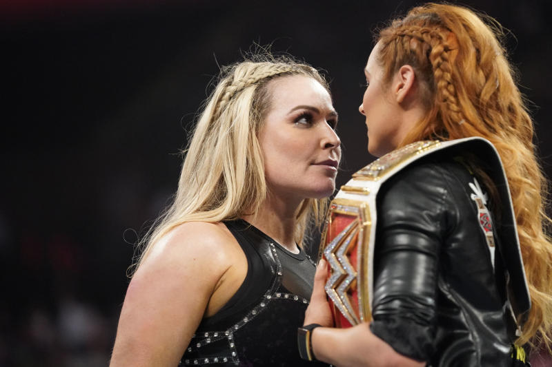 Natalya 'Nattie' Neidhart and Becky Lynch will face each other Sunday August 11, 2019 at WWE SummerSlam. (Photo courtesy of WWE)