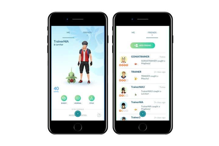 pokemon go update friends