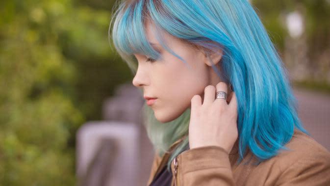 ilustrasi rekomendasi gaya rambut berponi/Nadezhda Manakhova/shutterstock