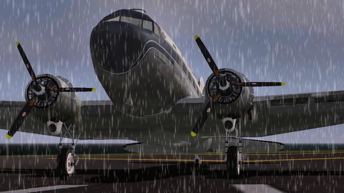 Flightgear simulator