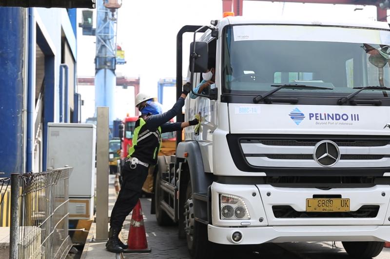 Plt Dirut : Terminal Teluk Lamong sudah terbiasa terapkan normal baru