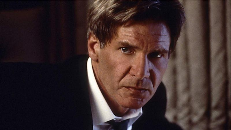Harrison Ford in Air Force One, on Netflix
