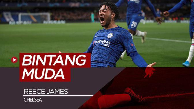 VIDEO: Reece James, Pahlawan Muda Chelsea
