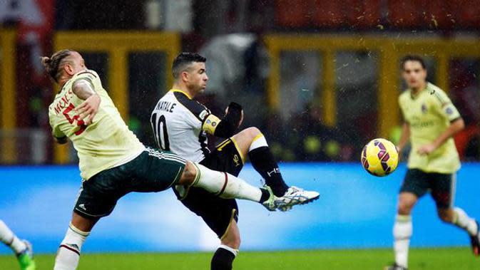 Antonio Di Natale saat masih memperkuat Udinese. (Istimewa)