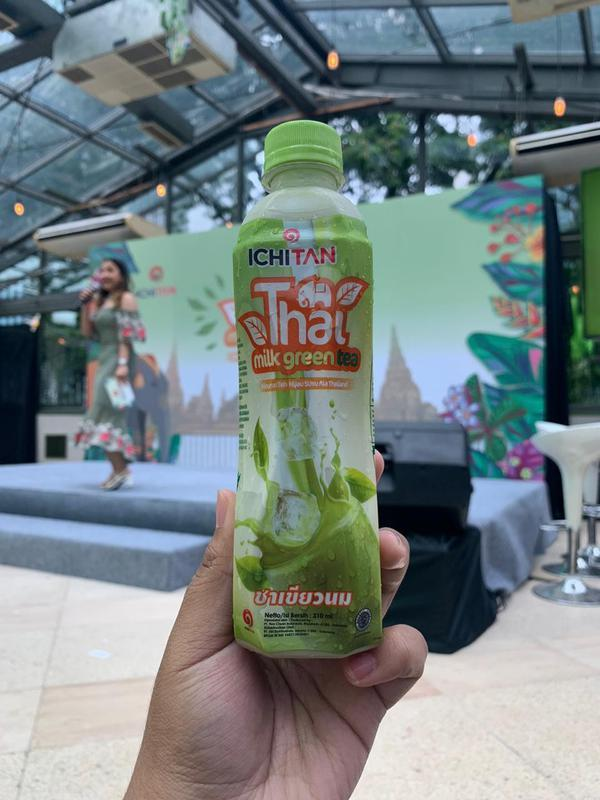 ICHITAN Thai Milk Green Tea