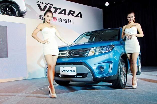 全方位實力 Suzuki Vitara正式登場