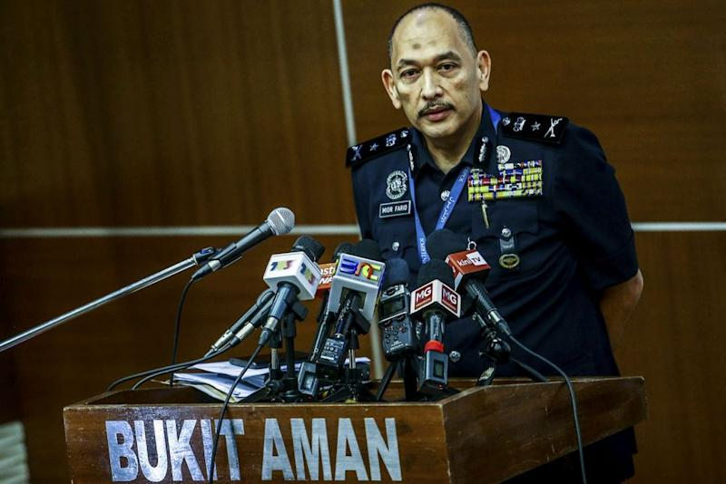 Bukit Aman CID deputy director Deputy Comm Mior Faridalathrash Wahid was reported as saying that those subjected to investigations are the author, editor and publisher of the book. — Picture by Hari Anggara